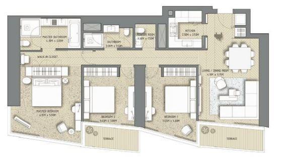 the address residences dubai opera apartment 3 bhk 1557sqft 20203717143745