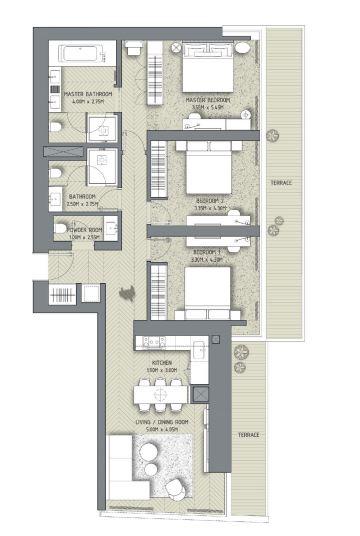 the address residences dubai opera apartment 3 bhk 1797sqft 20203817143811