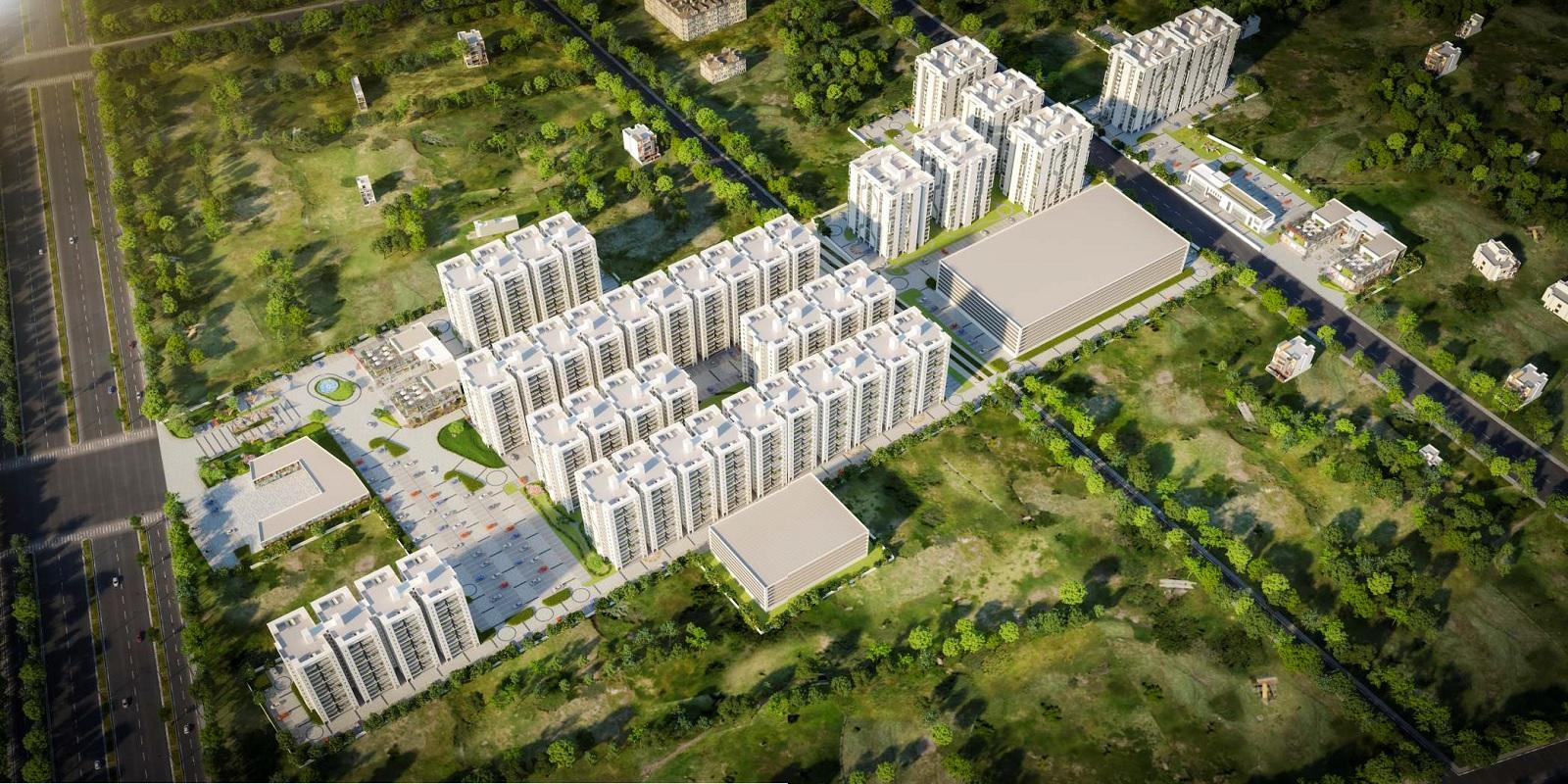 advitya homes project tower view1