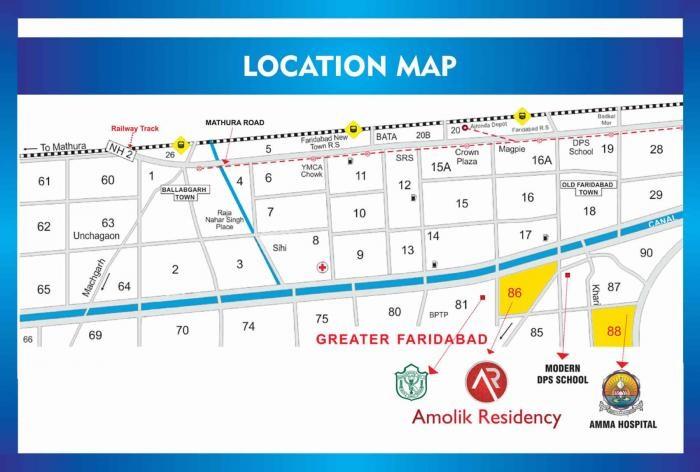 amolik residency project location image1