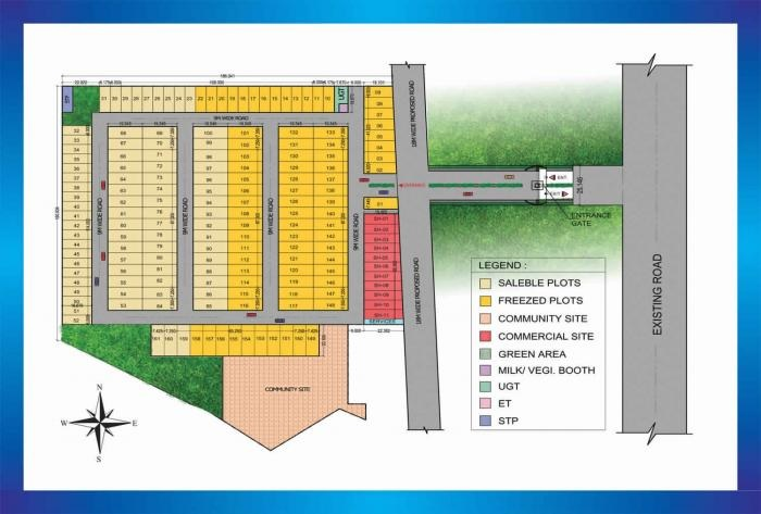 amolik residency project master plan image1