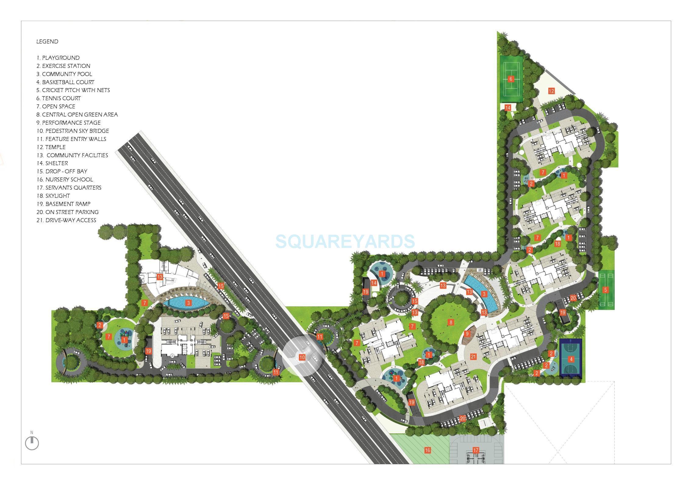 astrum homes alta casa master plan image1
