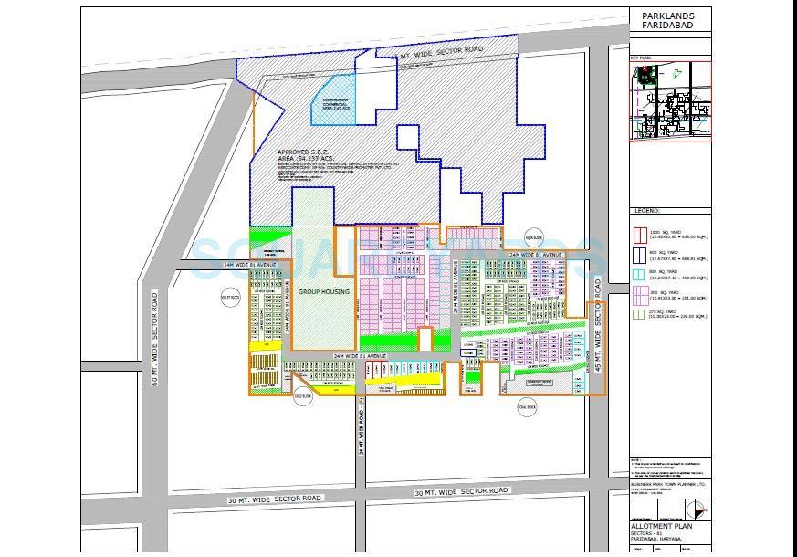 bptp park 81 master plan image1