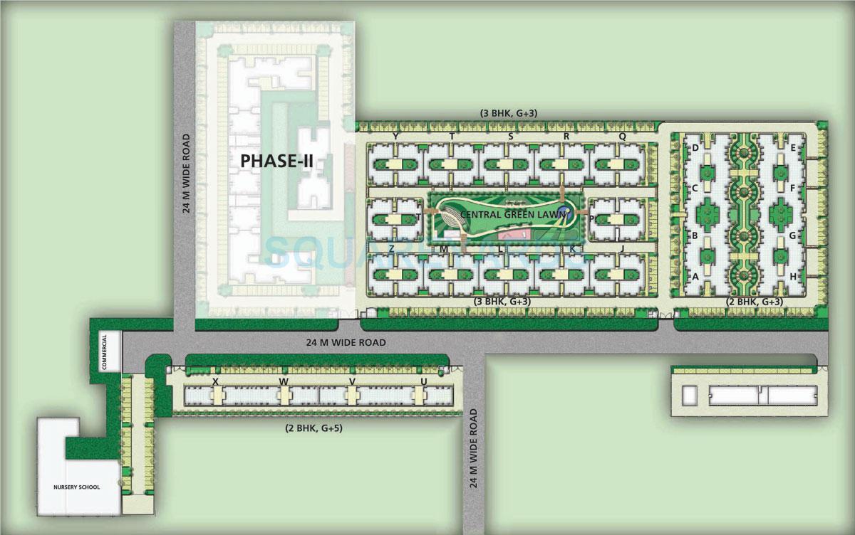 bptp park floors i master plan image1