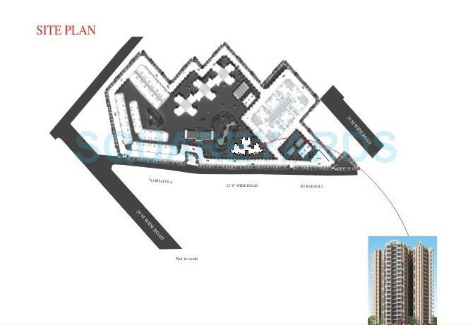 dhingra gloria master plan image1