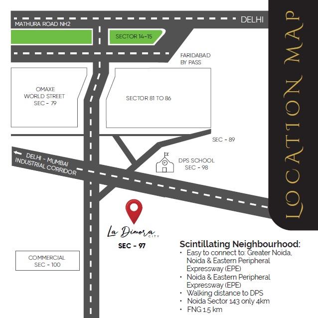 lightstone la dimora city project location image1