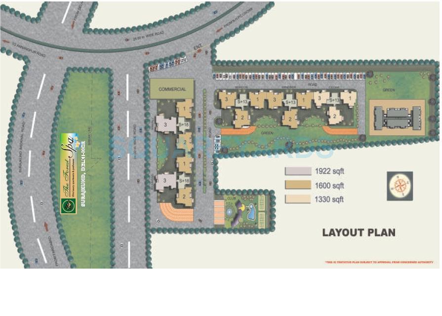 omaxe hills master plan image1