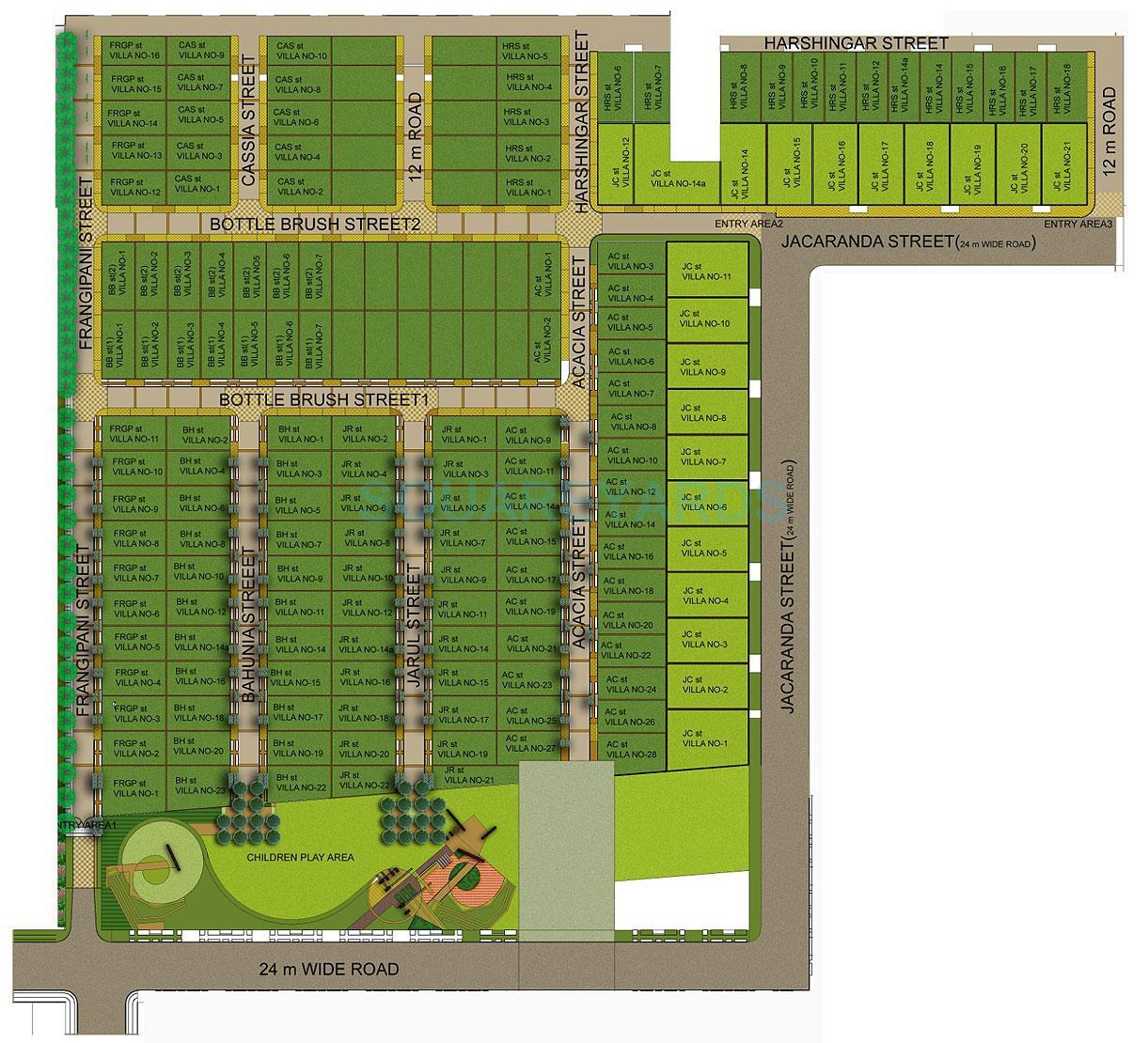 puri vip floors master plan image1