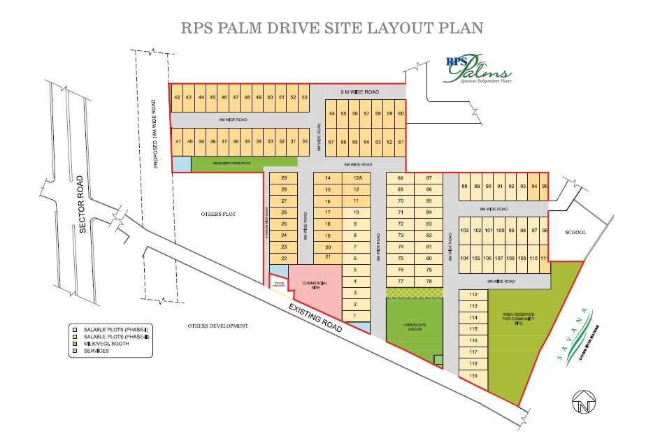 rps palm drive project master plan image1