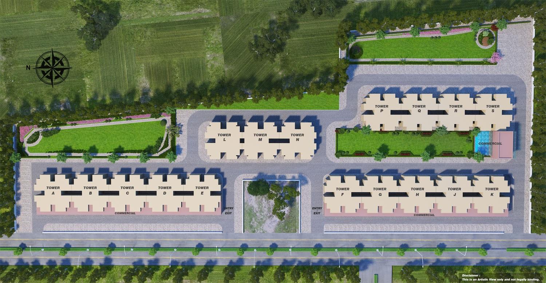 sarvome shree homes master plan image3