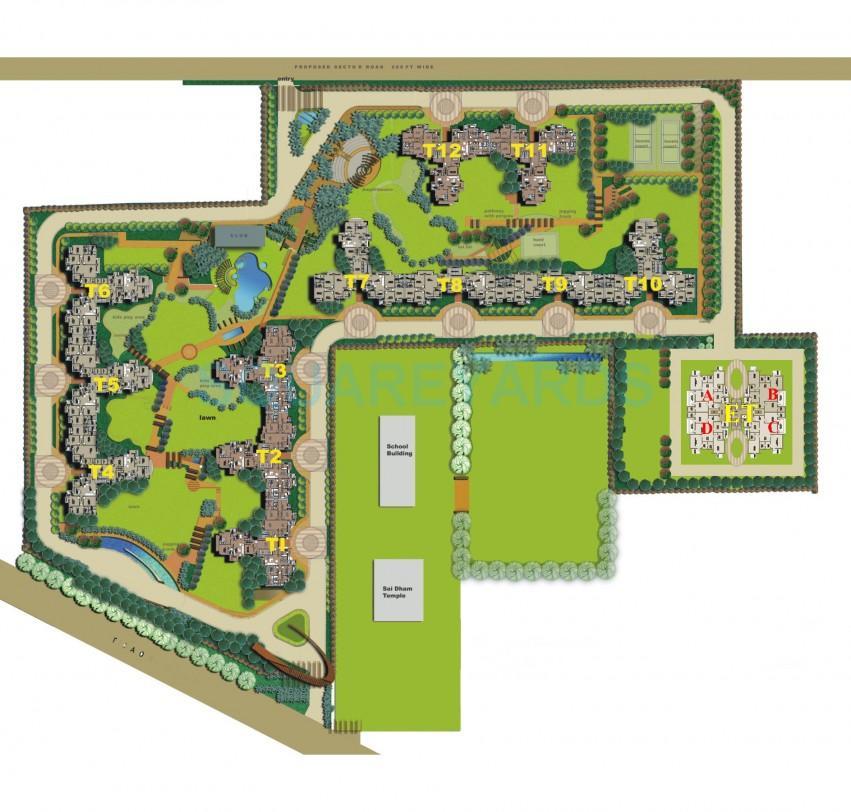 shiv sai ozone park master plan image1