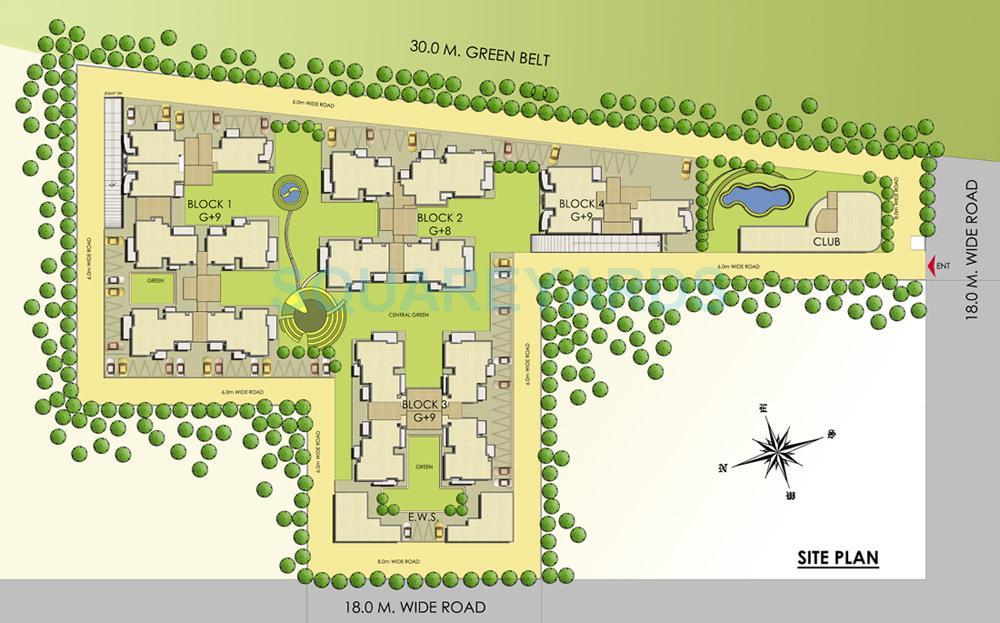 slf indraprastha apartments master plan image1
