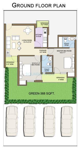 klj platinum floors ind floor 2bhk 1197sqft 1