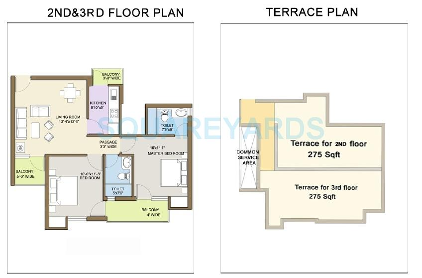 klj platinum floors independent floor 2bhk 1104sqft 1