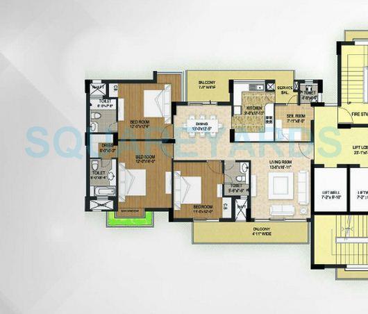 krrish shalimar ibiza town apartment 3bhk sq 2390sqft 1