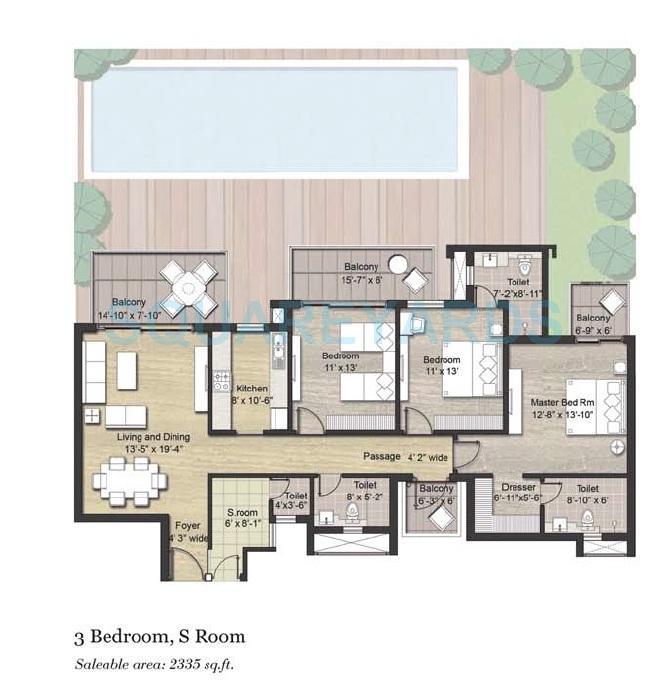 puri aanandvilas apartment 3bhk sq 2335sqft 1