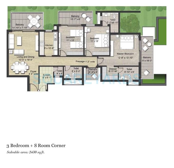 puri aanandvilas apartment 4bhk sq 2430sqft 1