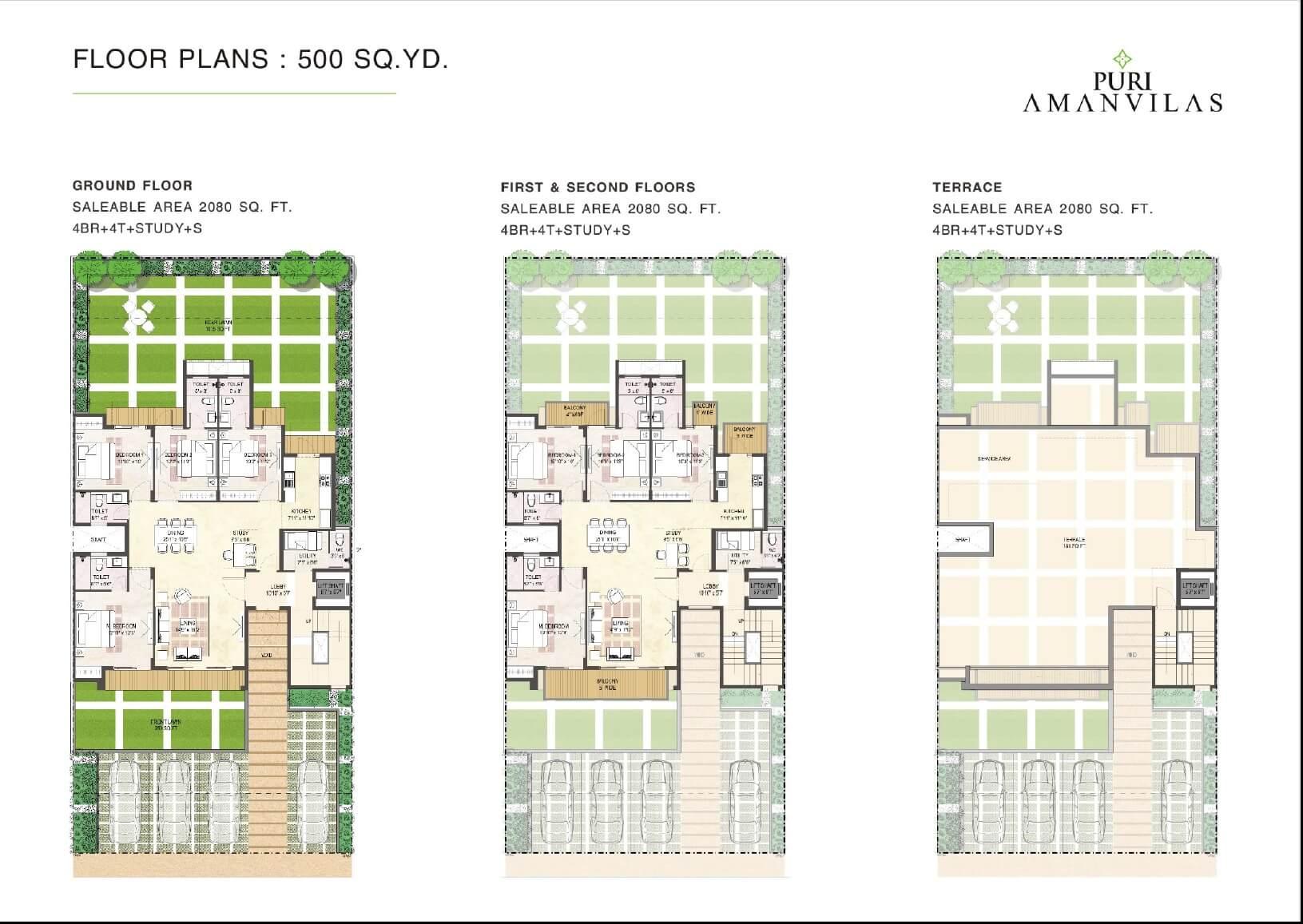 puri aman vilas ind floor 4bhk st 2080sqft 1