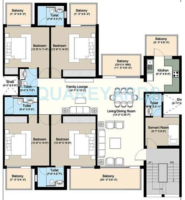 puri vip floors independent floor 4bhk sq 1808sqft 1