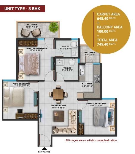 sarvome shree homes apartment 3bhk 645sqft01