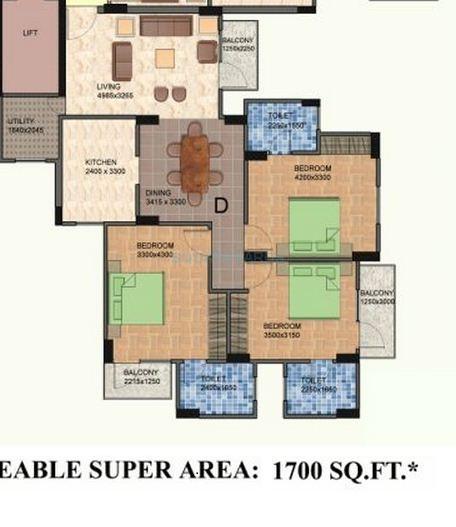 shiv sai vatika apartments apartment 3bhk 1700sqft 1