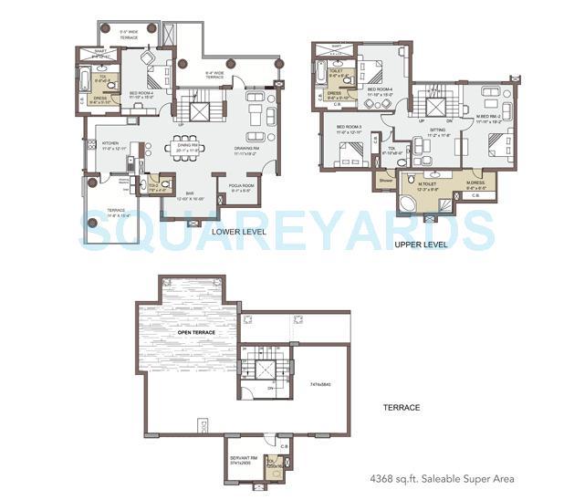 spr imperial royaut penthouse 4bhk 4368sqft 1