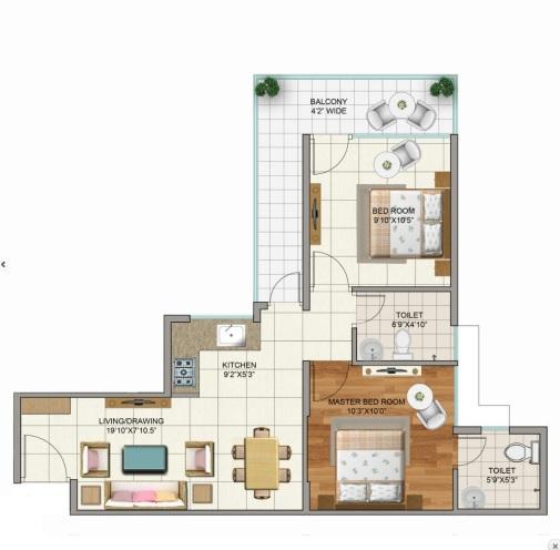 terra lavinium apartment 2 bhk 498sqft 20212107152112