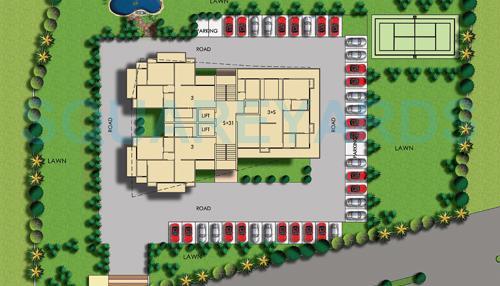 amr krishna apartment master plan image1