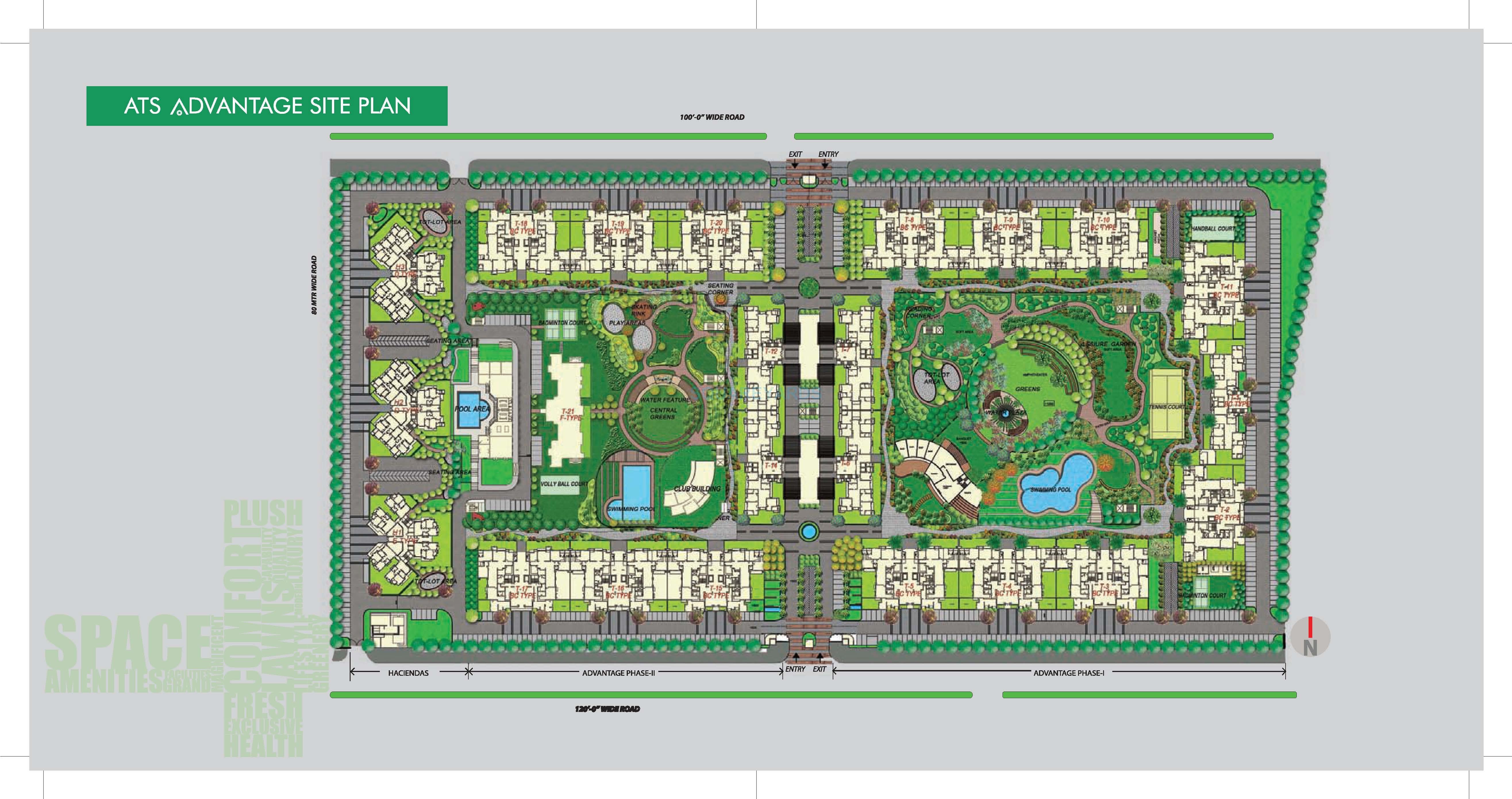 ats advantage phase ii master plan image1