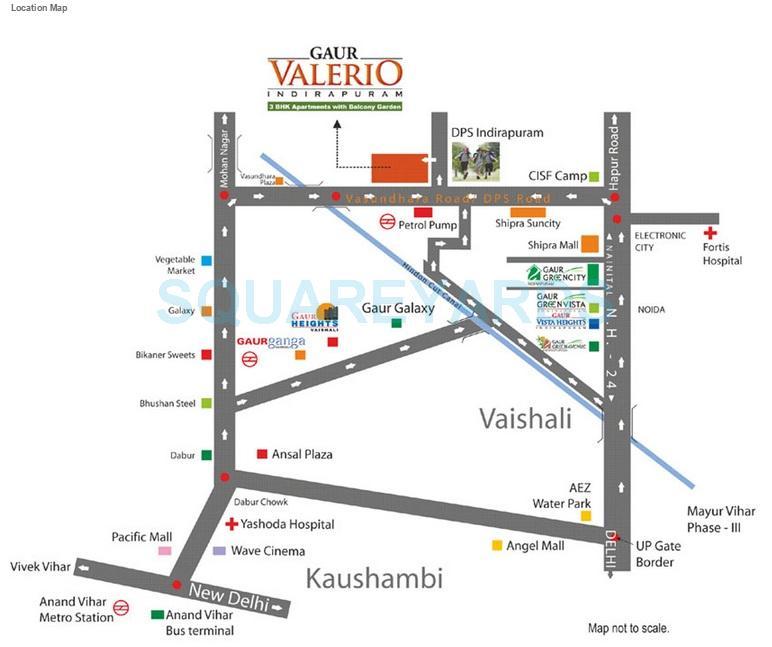 gaur valerio location image1