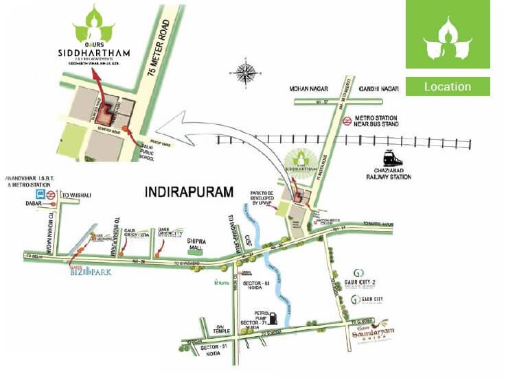 gaurs siddhartham location image1