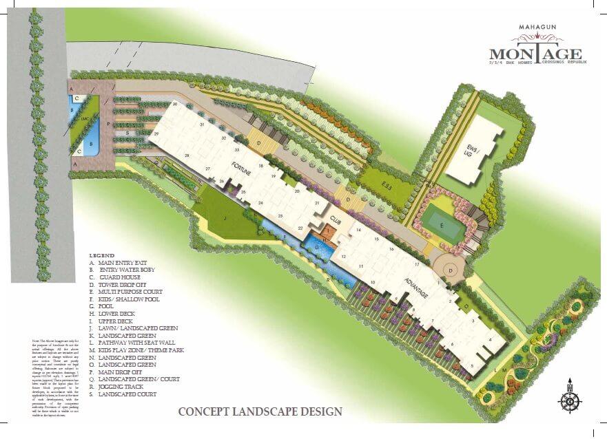 mahagun montage master plan image1