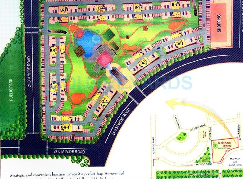 mapsko krishna apra gardens master plan image1