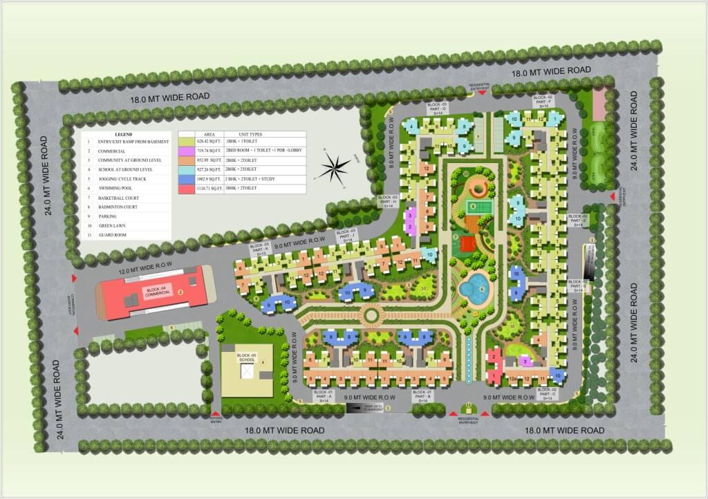nilaya greens master plan image1