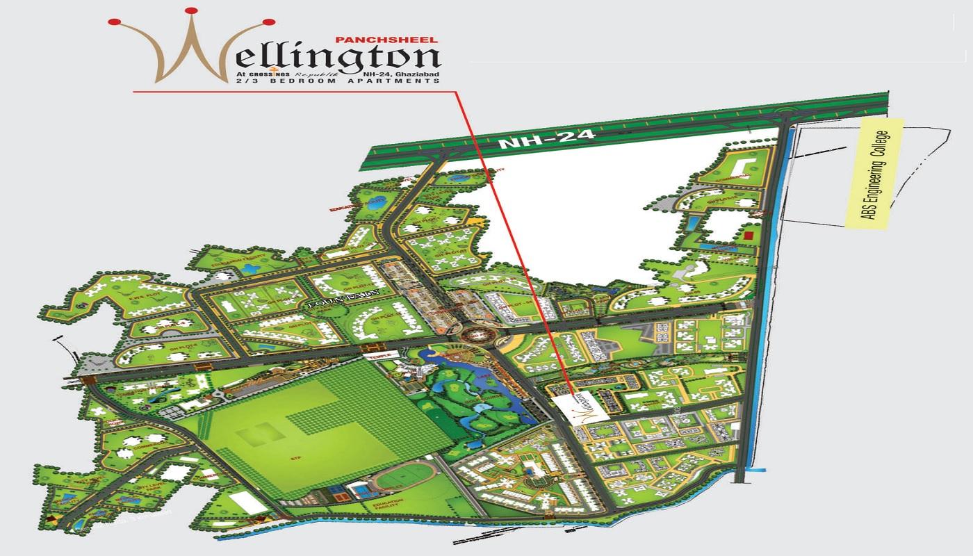 panchsheel wellington 2 master plan image8