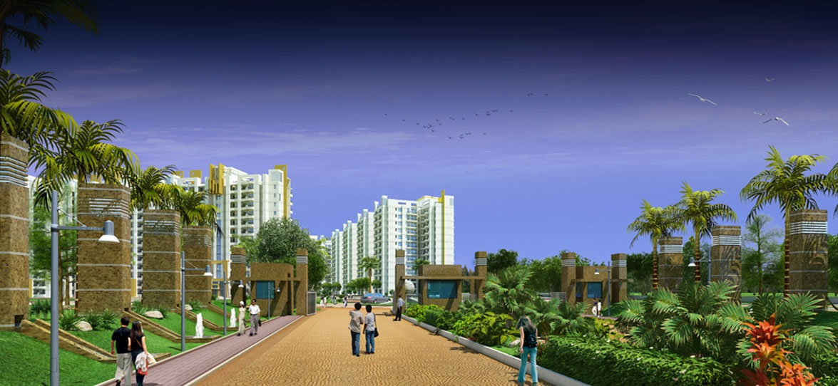 parsvnath exotica ghaziabad project tower view2