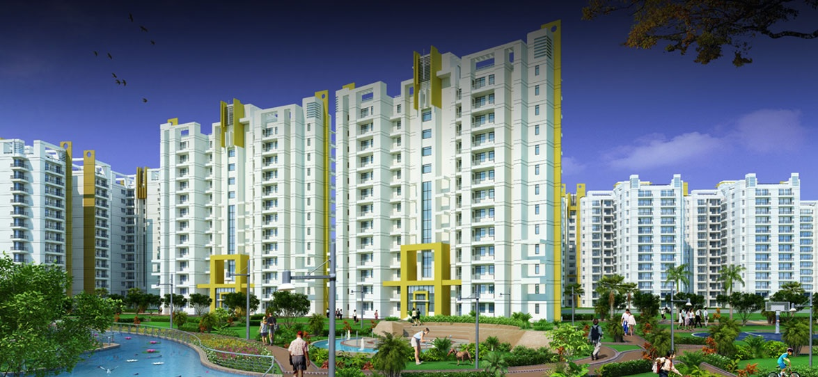 parsvnath exotica ghaziabad project tower view3