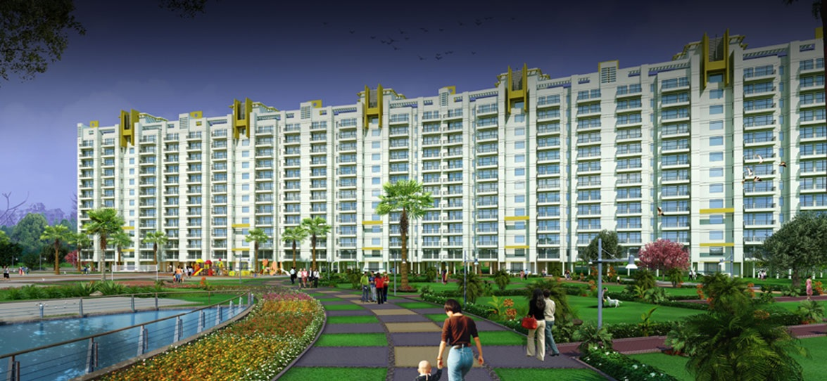 parsvnath exotica ghaziabad project tower view4