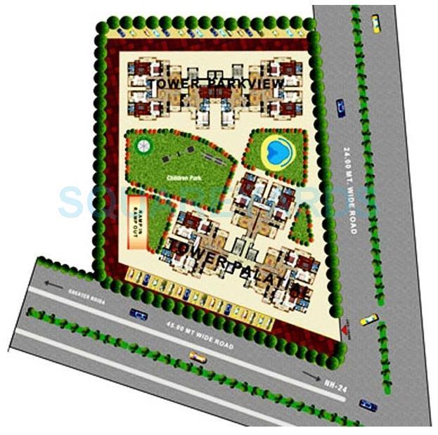 prateek the royal cliff master plan image1