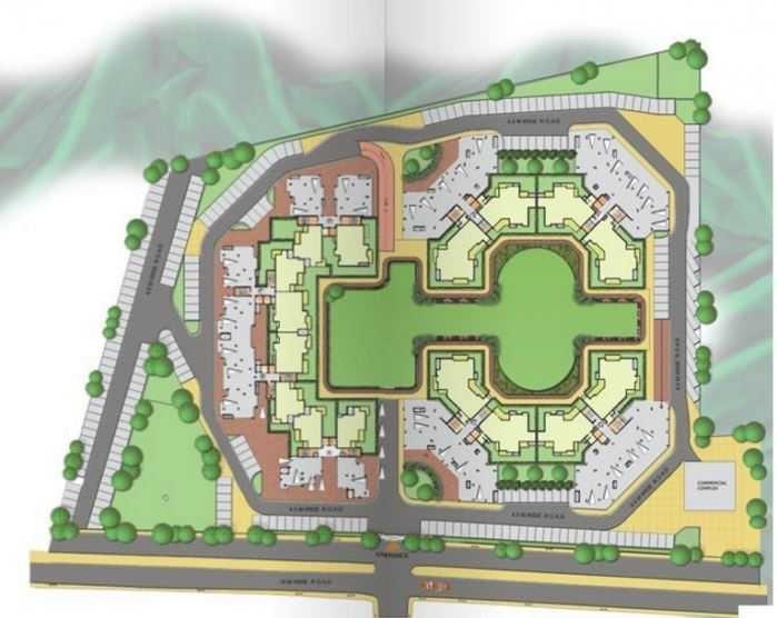 ramprastha pearl court project master plan image1