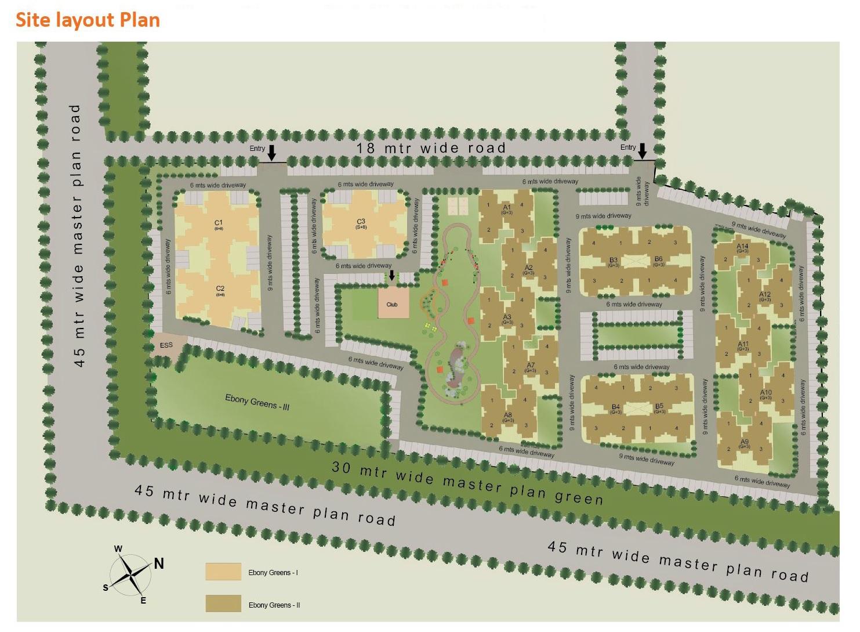 sare ebony greens project master plan image1