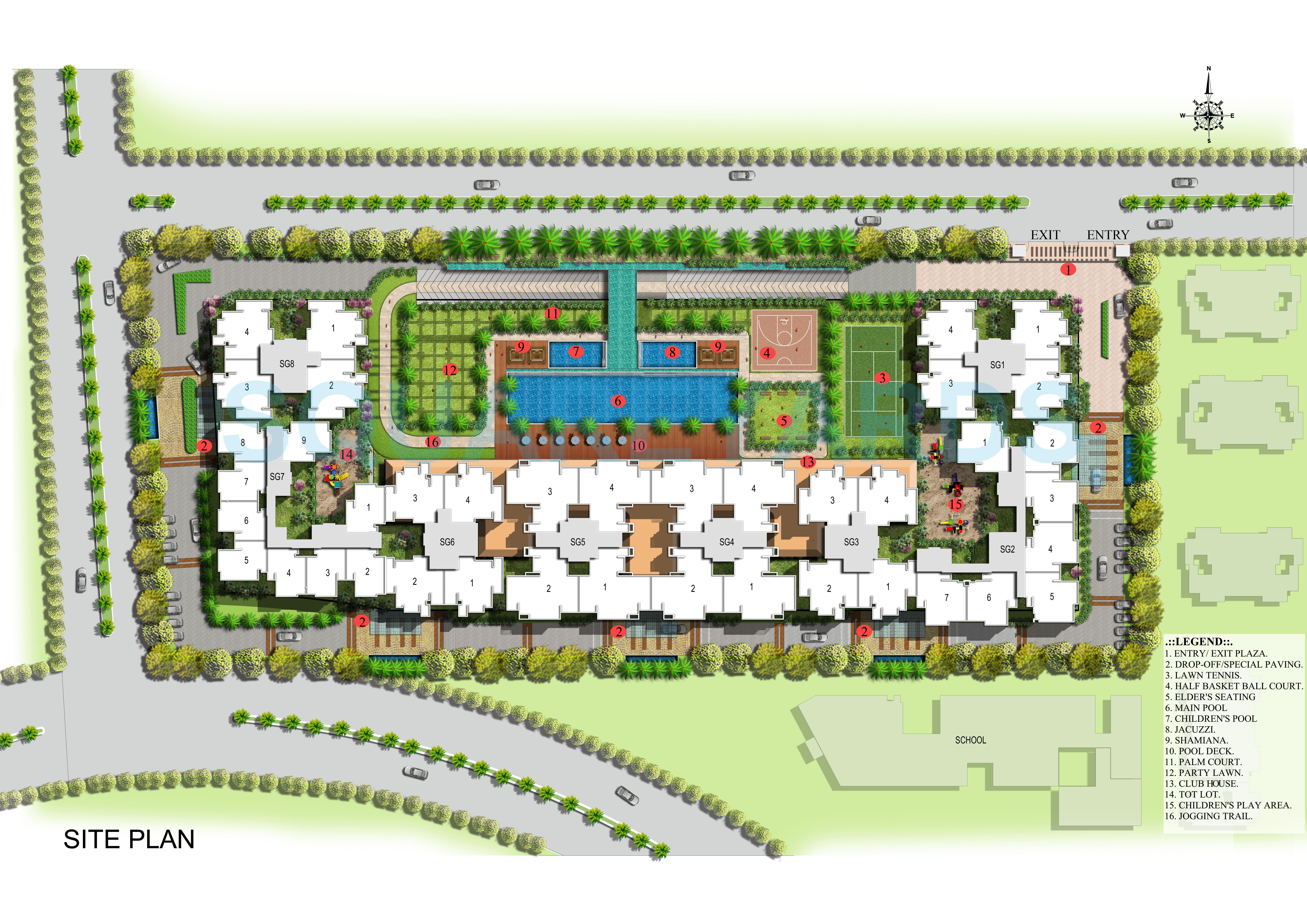 saya gold avenue master plan image1