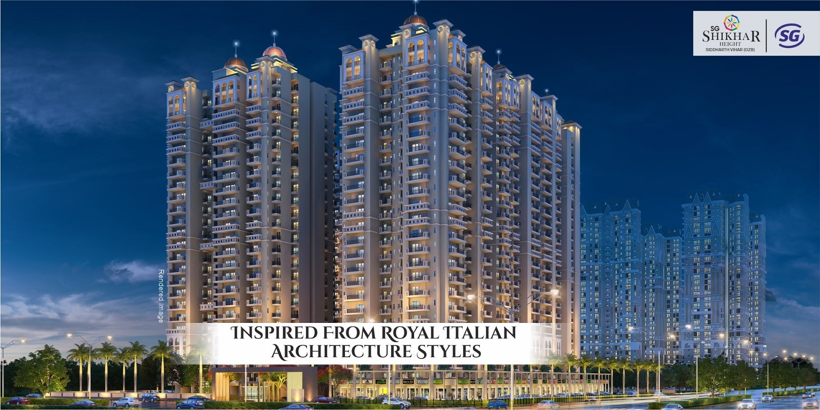 sg shikhar height project tower view1