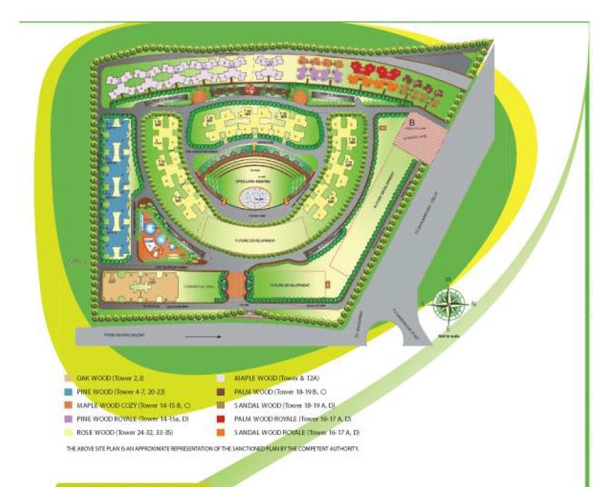svp gulmohur greens project master plan image1