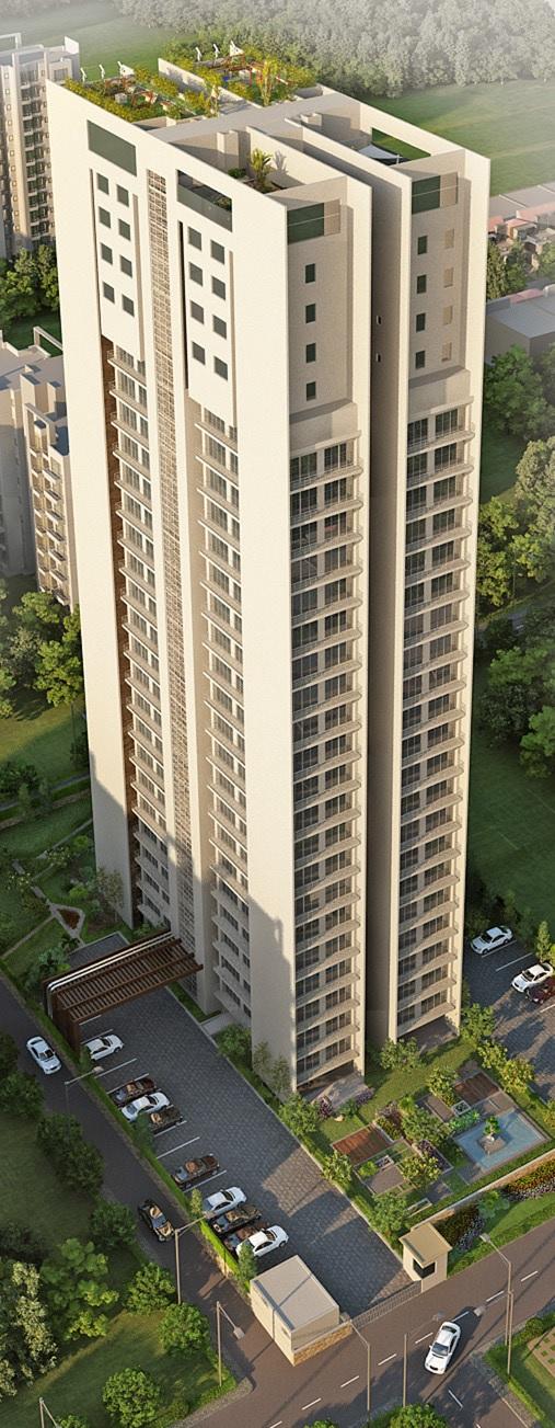 thapar arthah project tower view2