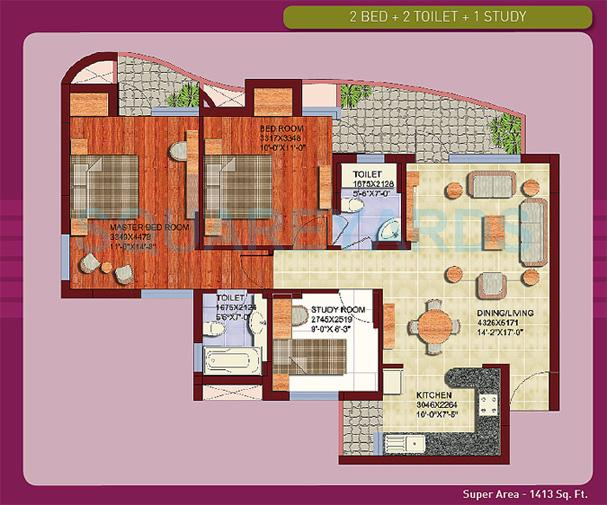 aba olive county apartment 2bhk 1413sqft1