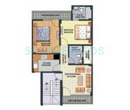 aditya gracious floors apartment 2bhk 738sqft1
