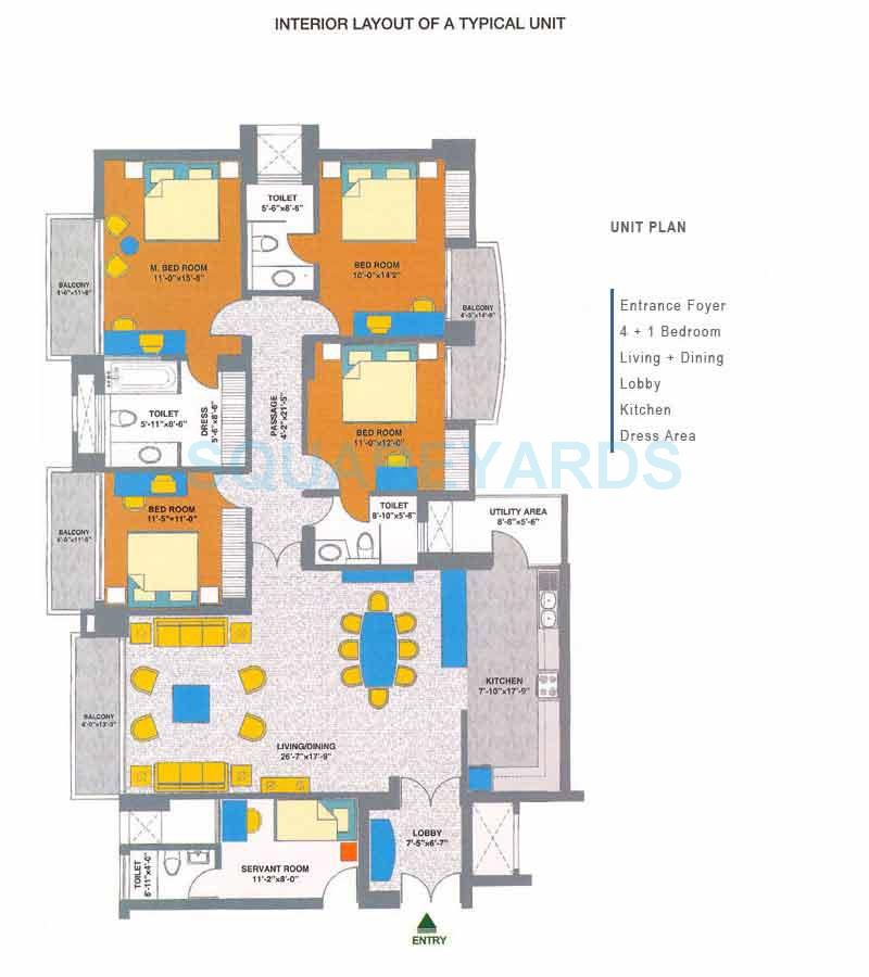 assotech elegante apartment 4bhk sq 2476sqft 1