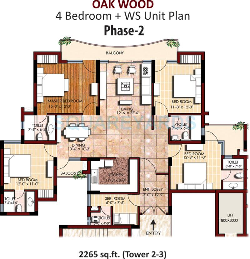 svp group gulmohur greens apartment 4bhk 2265sqft1