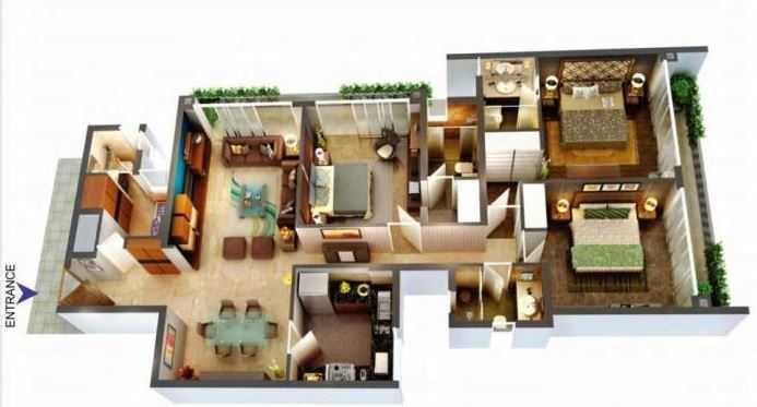 thapar arthah apartment 3 bhk 2286sqft 20203007113027